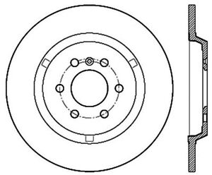 disc brake rotor premium disc preferred rear centric 120 69003 ebay Tundra Seat Covers stock photo