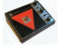 Gibson Maestro BB1 Bass Brassmaster overdrive/distortion effects pedal