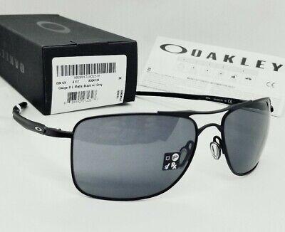 OAKLEY matte black/grey GAUGE 8 OO4124-0162 sunglasses! NEW IN BOX!