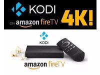 *****Amazon Fire TV with 4K Ultra HD Digital Media Streamer + Kodi 17.4*****
