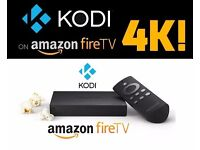 AMAZON FIRE ULTRA 4K HD TV BOX fully loaded with kodi 16.1 + spmc and Latest add ons + MOBDRO