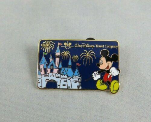 Walt Disney Travel Company Pin - Mickey Mouse and Sleeping Beauty