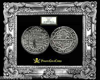 Click now to see the BUY IT NOW Price! SPAIN 1630 8 REALES SILVER COIN PIECES OF EIGHT  KING PHILIP IVTH NGC 55