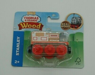 New Sealed Fisher-Price Thomas and Friends Wood Wooden Railway Stanley Train NIB