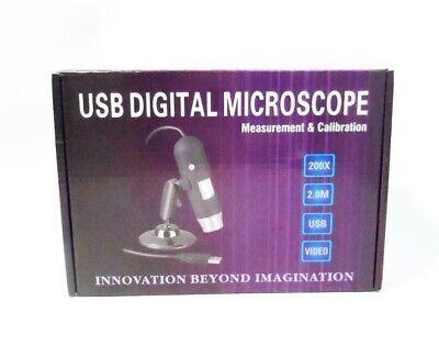 Ablegrid 2mega Pixel Resolution Usb Digital Microscope For Windowsmac20x-200x
