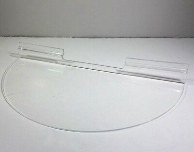 6-packacrylic Slatwall Holder Display Wall Mount Rack Round Circle Display