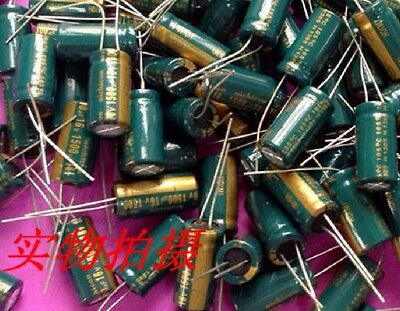 10 Pcs New 1500uf 16v Radial Electrolytic Capacitor