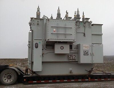 Substation Transformer 395265 Mva Wload Tap Changing - New Surplus