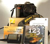 Nikon D200 Pro Body + 18-200mm VR + SB-600 (ou D200 seul : 250$)