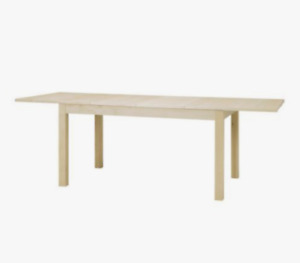 IKEA BJURSTA extendable dining table - pine veneer