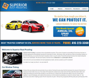 SUPERIOR RUSTPROOFING LICENCE-- EXTRA INCOME!!!!