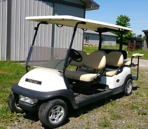 2011 Precedent Seats 6. 48 volt electric golf cart.