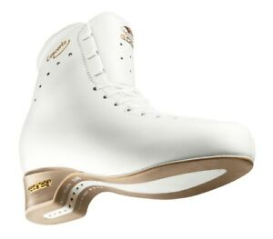 BRAND NEW WHITE EDEA CONCERTO SKATES WITH CORONATION ACE BLADE