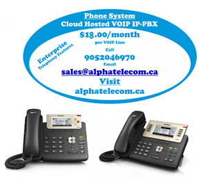 Cloud Hosted VoIP IP-PBX Phone System