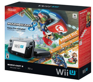 Wii U 32GB Mario Kart 8 Bundle