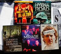 Lot de 5 DVD - Blu-Ray NEUF pour seulement 15 $
