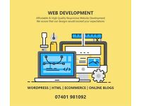Professional Website Development - 7 Days Delivery - Unlimited Revisions - Affordable Price