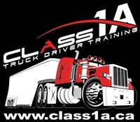 Class 1A or 3A Truck Driver training : Sask's 1st & Best