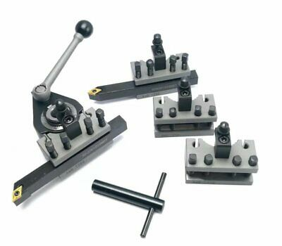Multifix Type Aa 40 Position Quick Tool Post Kit 10mm 3pcs Turning Tool Kit