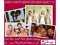 Find a Photo Booth Company to fit your budget at Photo Booth Finder UK we have 100's