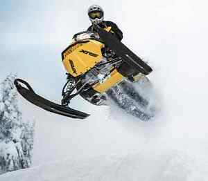 Book your Snowmobile in today with Cooper's.  The Snow is coming