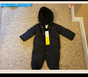 Brand new with tags Polo Ralph Lauren snow suit