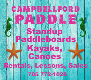 Standup Paddleboards - Free demos before you buy