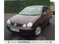2004 VOLKSWAGEN VW POLO 1.2L ** 5 DOOR ** 1 OWNER ** ONLY 43,000 MILES **