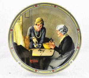 Norman Rockwell collector plate -- A Family's Full Measure.