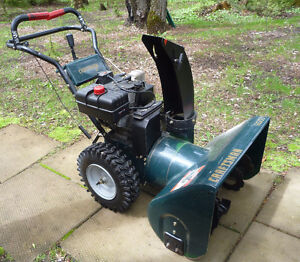 Craftsman Dual Stage Snow Blower, 9HP, 27inch for sale