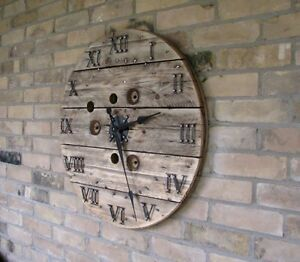 Cable Spool Clocks Kitchener / Waterloo Kitchener Area image 1