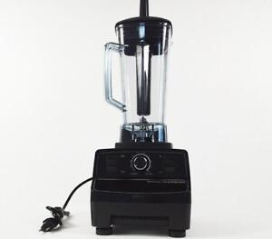 UL Certificated 110V 3 Speed Commercial Fruit Smoothie Blender Juice Mixer Ice Crusher 025060