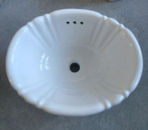 Price reduced! New porcelain sink