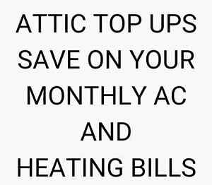 Lower your monthly AC bill by topping up your attic insulation Cambridge Kitchener Area image 2