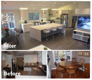 Renovations Basements, Kitchens, Bathrooms, Painting + more