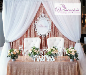 ***KING & QUEEN CHAIRS/ BRIDE & GROOM CHAIRS***
