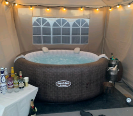 Limited offer! hot tub hire £25 per night midweek only