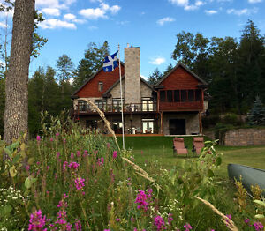 Luxury in the Gatineau Hills