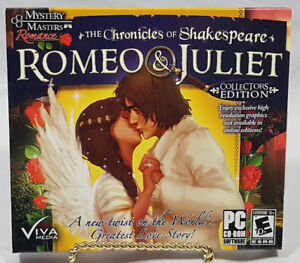 ROMEO & JULIET COLLECTORS EDITION PC SOFTWARE NEW