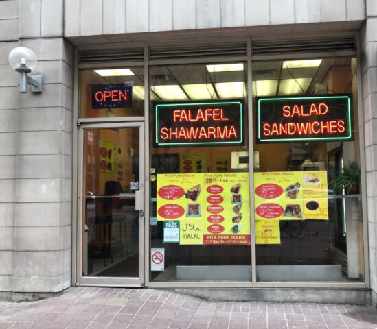 Fast food /Take out in Downtown Core For Sale