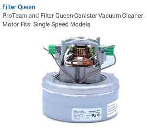 Filter Queen Canister Vacuum Replacement Motor