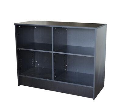 Black Cash Counter 48 Inch Cash Wrap Checkout Frame Shelf Retail Store Display