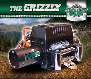 Kodiak Grizzly K12000EQG Winch