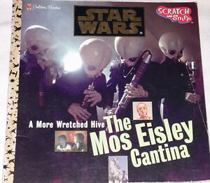 Qty 9 x Star Wars Toy Figures and Cantina Book