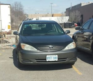 Get from Point A to B comfortably, Toyota Camry, Good Condition.
