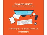 Beautiful Website Development - WordPress - Unlimited Revisions - Mobile & SEO Friendly Websites