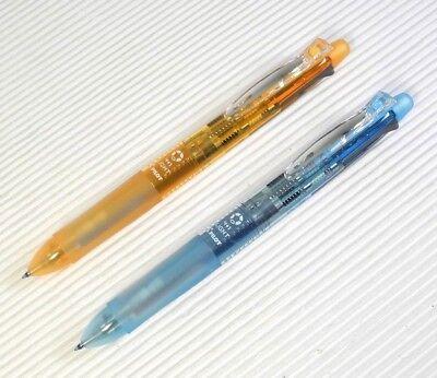 Orange Blue 2pcs Pilot Dr.grip 41 Light Ball Point Pen Mechanical Pencil