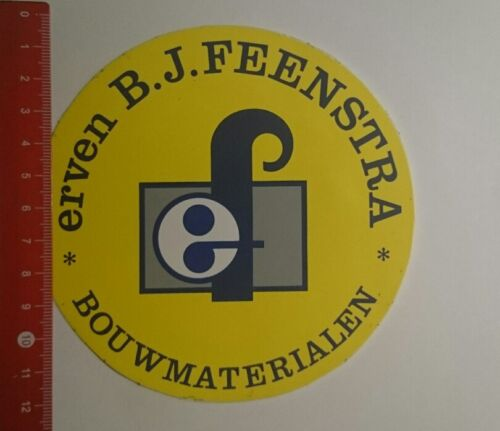 Aufkleber/Sticker: ef erven BJ Feenstra Bouwmaterialen (06011758)