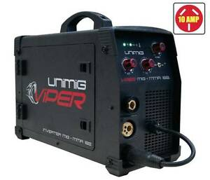 UniMig Viper 182 MIG-TIG-Stick Inverter Welder - 10amp plug Fairfield Fairfield Area Preview