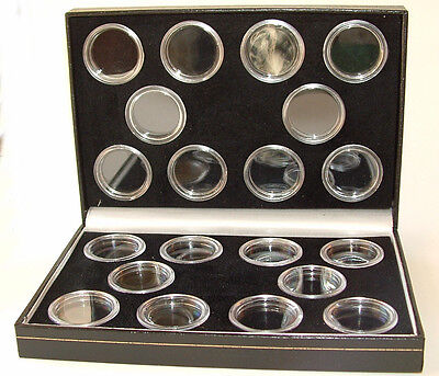 Coin Case Including Capsules for 10 FULL 10 HALF Sovereigns
